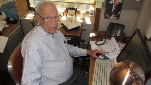 In his six decades of science writing, David Perlman has seen newsrooms go from manual typewriters to social media.
