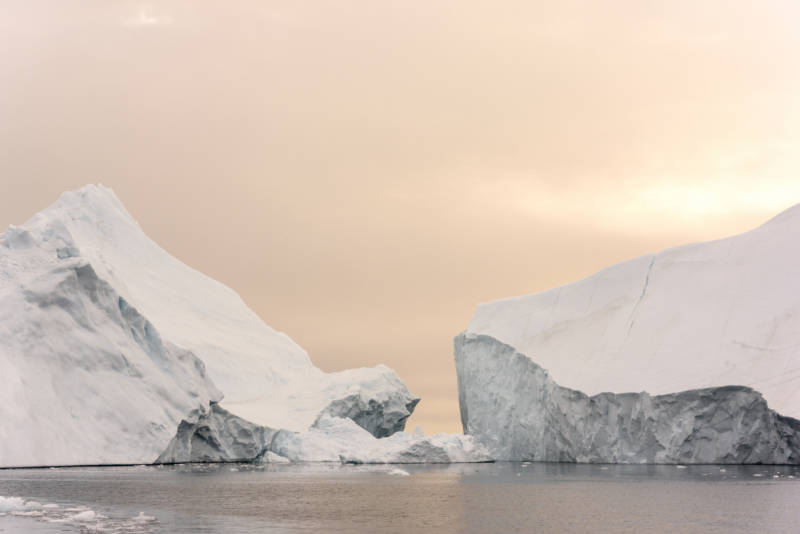 Video: An Iceberg 4 Miles Wide Breaks Off From Greenland Glacier