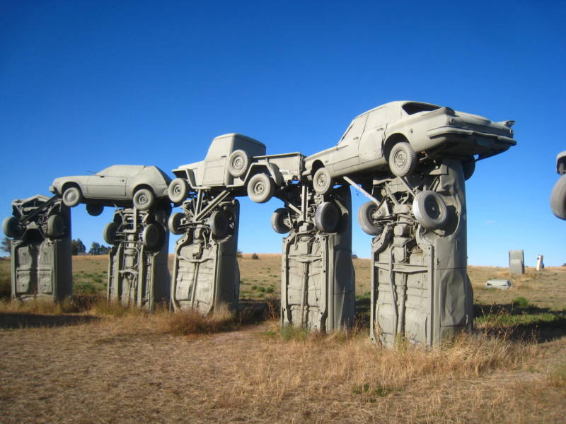 Carhenge in Alliance, Nebraska.