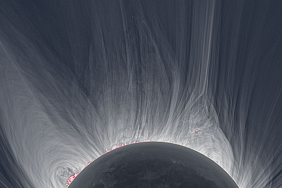 Eclipse Scientists Probe the Mysteries of the Sun's Atmosphere