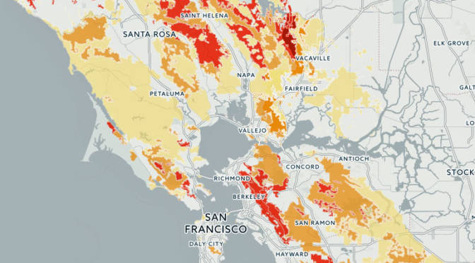 Map See If You Live In A High Risk Fire Zone And What That Means
