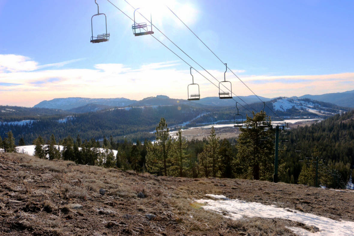 The Sierra 'Snow Line' Seems To Be Moving Uphill — Rapidly