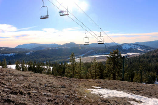In 2015 it was drought that left northern Sierra ski resorts with only patchy snow. In the future rain might be the cause.