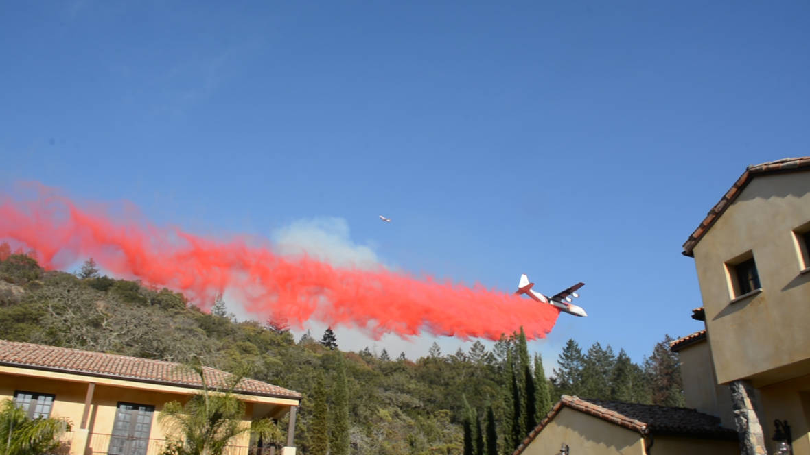 Fire Retardant Use Explodes as Worries About Water, Wildlife Grow