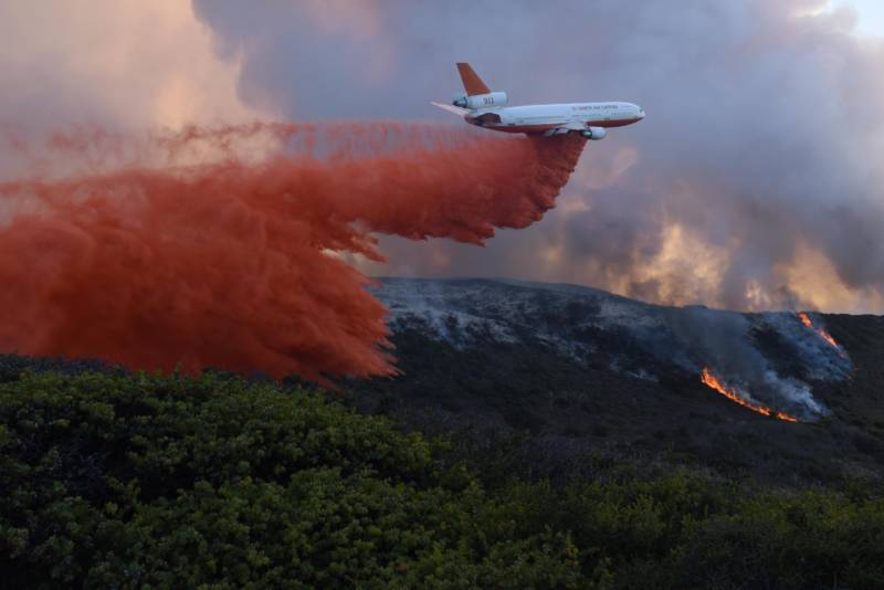 After Wildfires, What Happens to Crops Soaked in Fire Retardant?