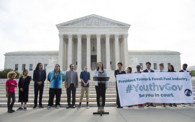 Young People's Climate Suit Dismissed by Appeals Court