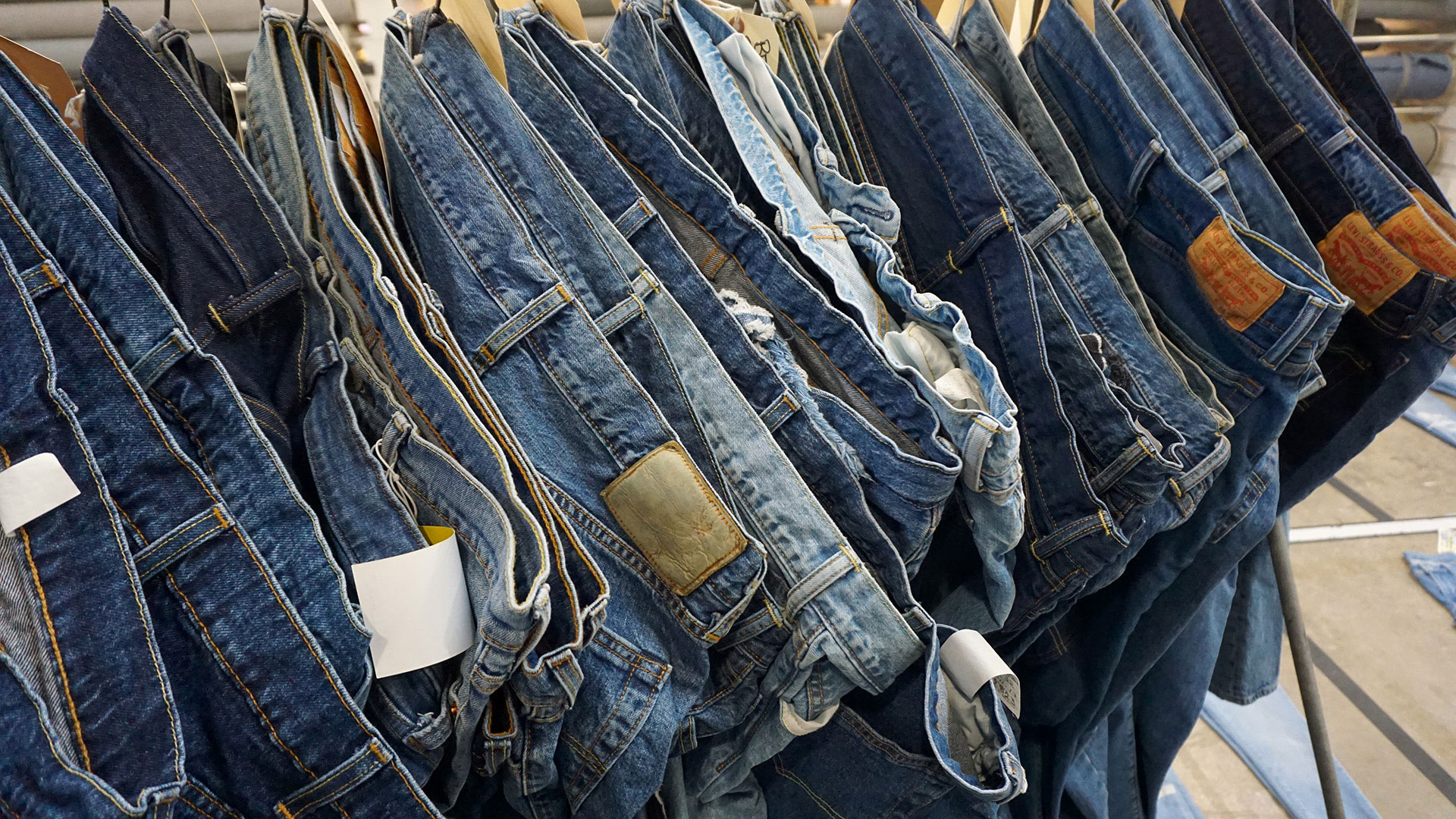 The Water In Your Jeans How Two Consumer Products Giants Are Cutting Back On Use