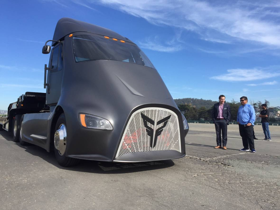 Thor Tosses a Hammer Into the Electric Truck Derby