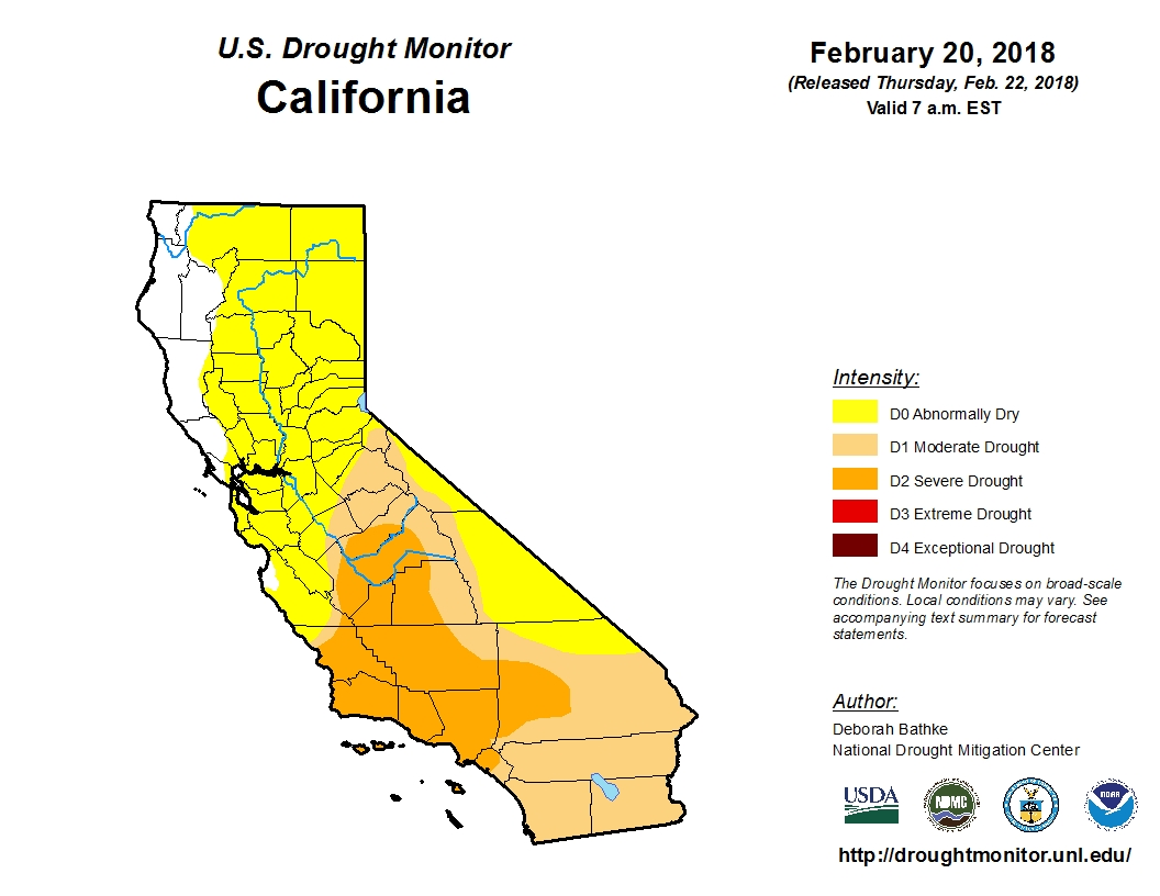 California's Recurring Nightmare: Nearly Half the State is Back in Drought