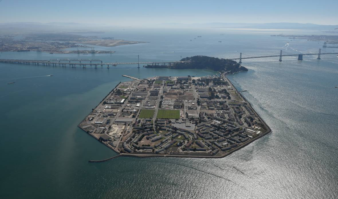 Treasure Island Is Sinking As Seas Are Rising, and So Are Other Bay Area Cities