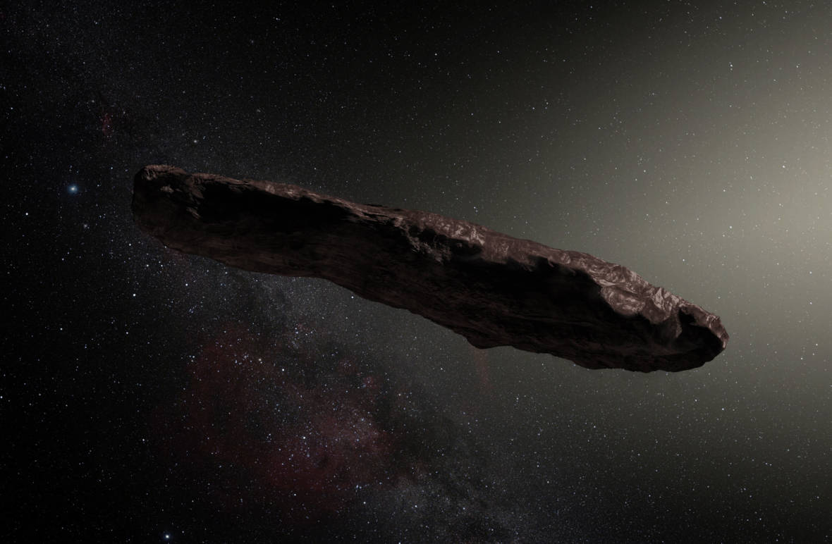 Our 1st Interstellar Visitor Likely Came From a 2-Star System
