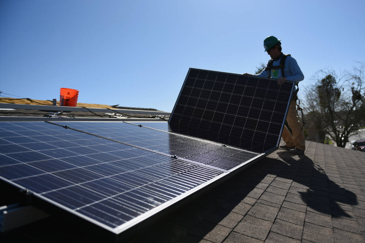 In a First, California Will Require Solar Panels On All New Homes
