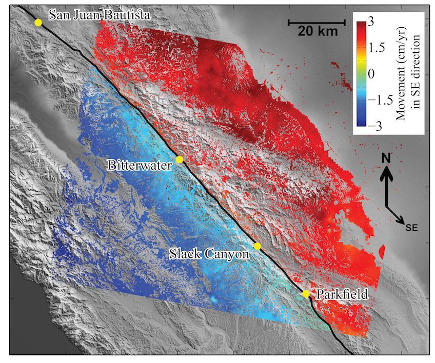 Slow, Steady Quakes May Increase Risk Along San Andreas