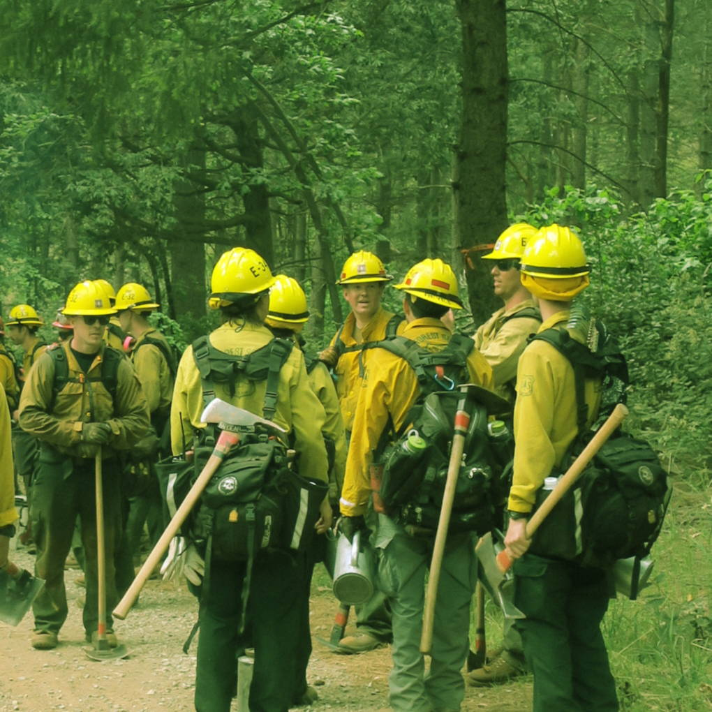 In May, U.S. Forest Service crews set a 23-acre prescribed burn in the Yuba River District for the Tahoe National Forest.