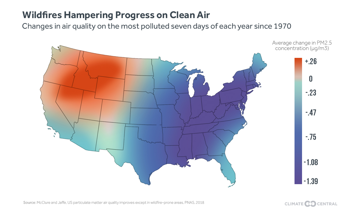 Map: national progress toward clean air goals
