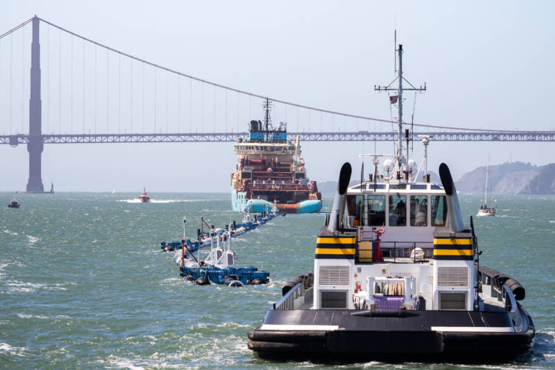Giant Trash Collecting Device To Be Deployed in the Pacific Ocean