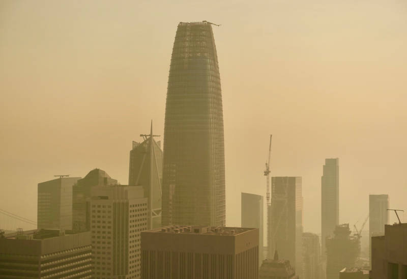 Weather Service: 'Final Day' of Smoke for Bay Area