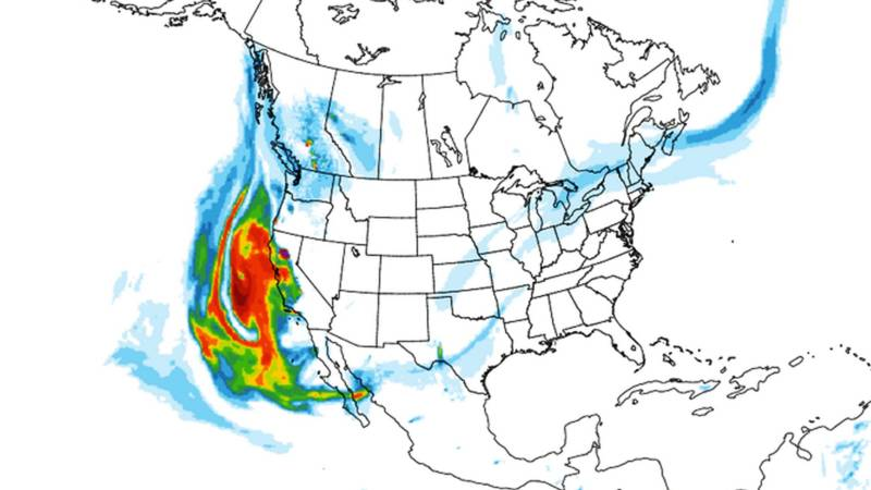 VIDEO: Watch How Smoke From Camp Fire Disperses Over U.S.