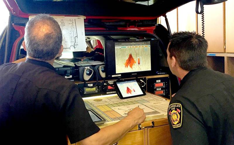 California Firefighters Use Supercomputers to Forecast Wildfires