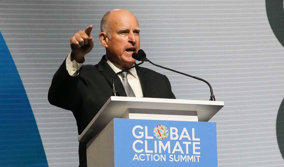 Five Big Things Governor Brown Did on Climate Change