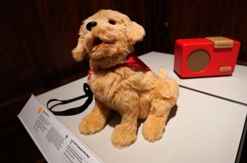 Tech Firms Look to Robotic Pets, Music and VR to Help Treat Alzheimer's