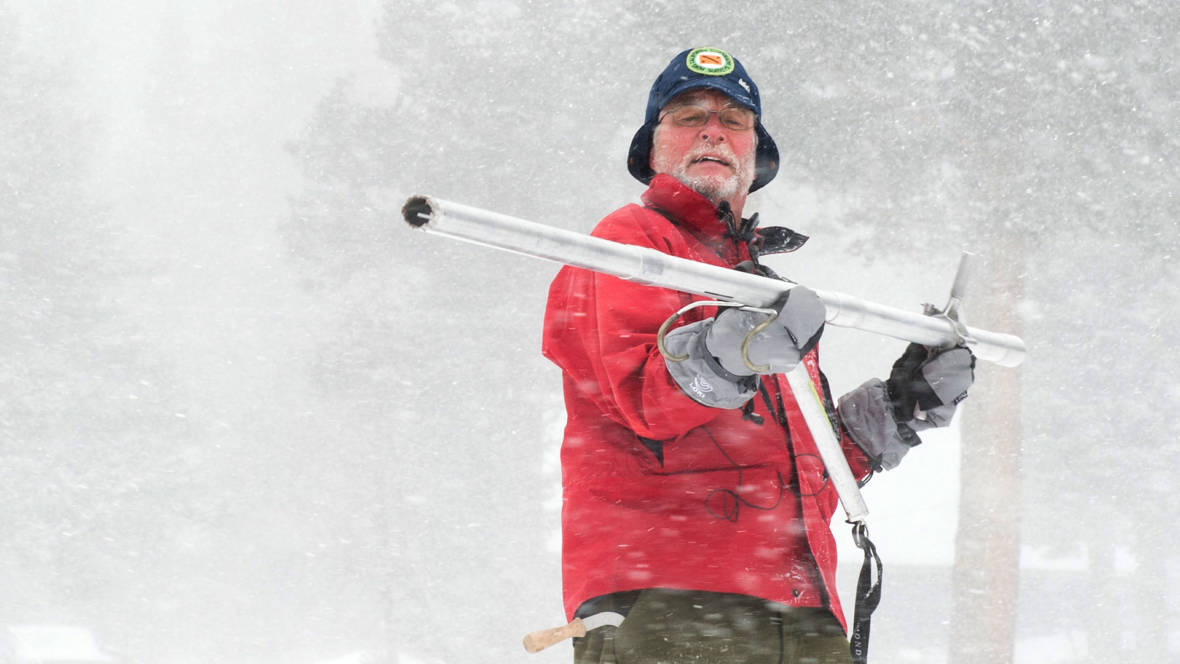 California's Indomitable Snowman Talks Snowpack Tech in a Changing Climate