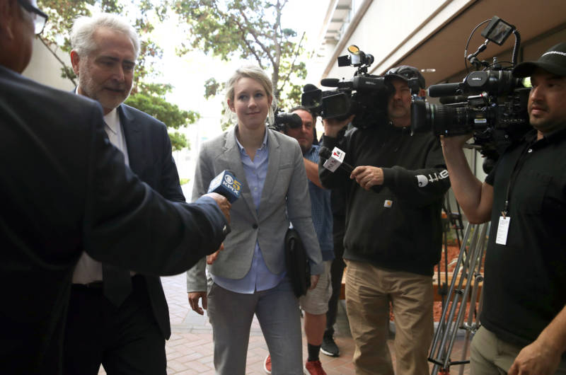 Elizabeth Holmes Appears in Court But Still No Trial Date in Theranos Fraud Case