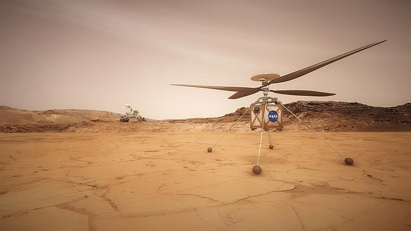 We're Sending a Helicopter to Mars