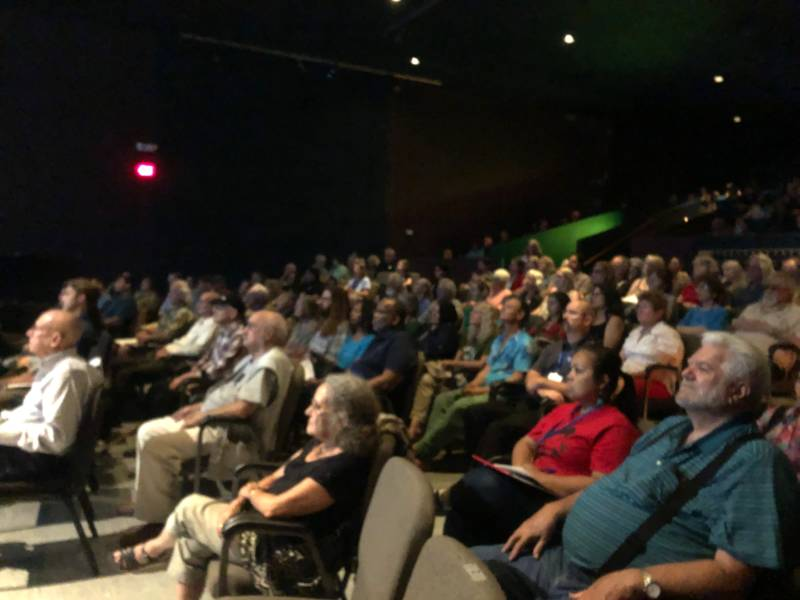 Around 250 Lake County residents attended the 'Wilder than Wild' film screening and conversation at Lakeport's Soper Reese Community Theatre on June 14, 2019.