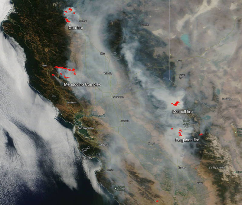 Study: Climate Change a Leading Driver of California's Wildfires