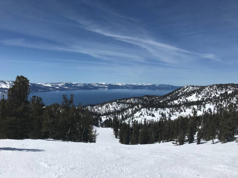 Lake Tahoe Nearly Full After Stormy Winter Potentially Enough Water for