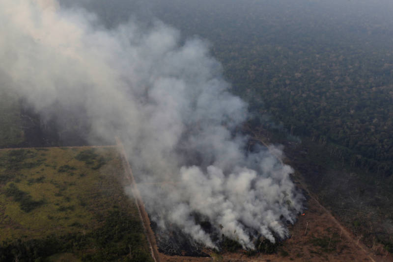 Harrowing Photos From the Amazon Rainforest Wildfires