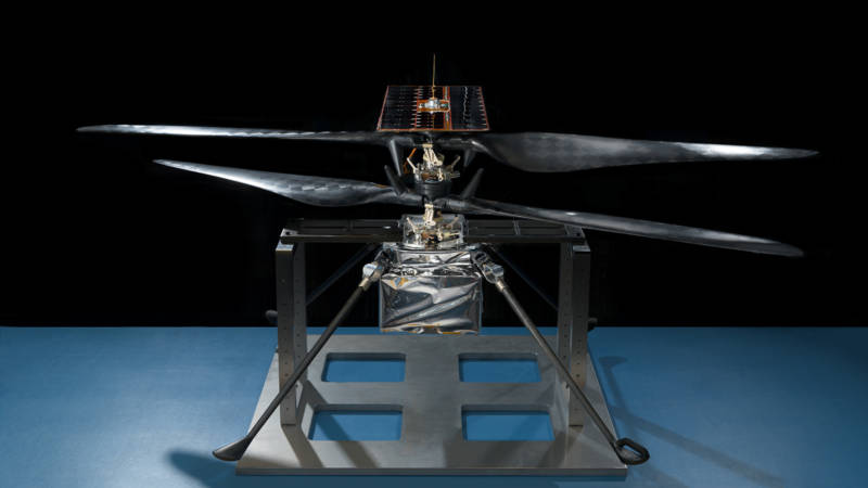 Mars 2020 will carry with it an experimental drone helicopter to test concepts such as aerial reconnaissance and remote exploration.