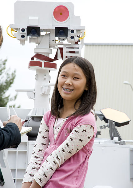 Clara Ma wrote the winning essay that named Curiosity, the predecessor of the Mars 2020 rover.
