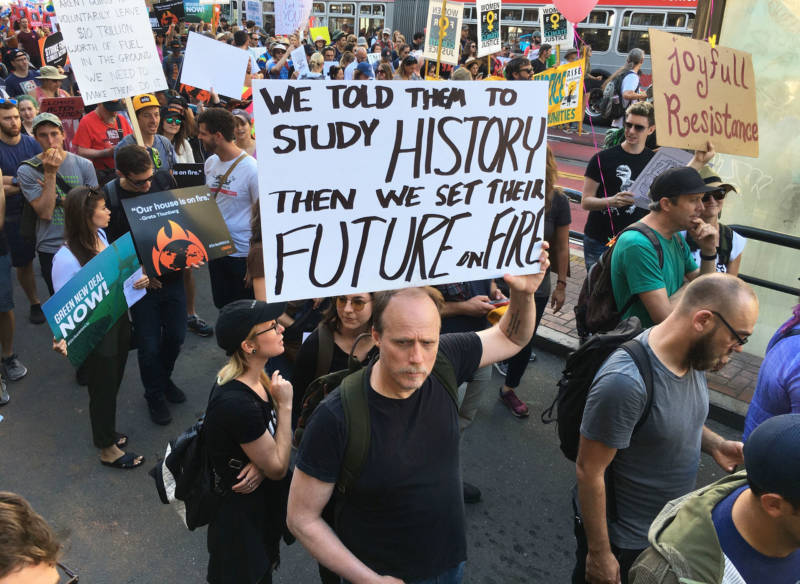 Bay Area Joins Worldwide Youth Climate Strike
