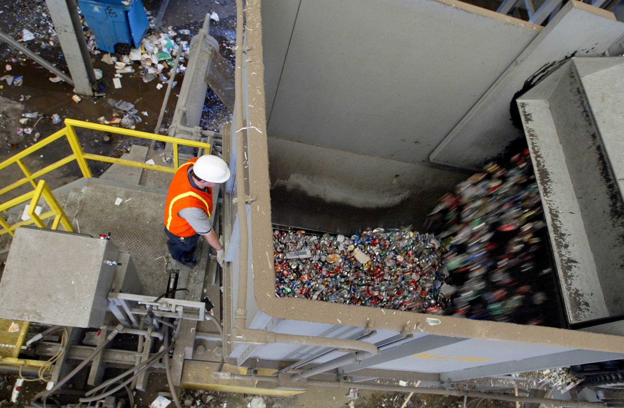 Legislature Passes Bill to Shore Up State's Recycling Centers