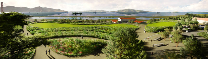 Elevated Park Will Connect Crissy Field With Presidio