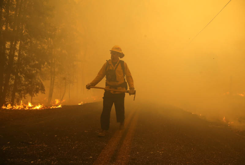 Researchers Probe the Toxic Soup From Wildfire