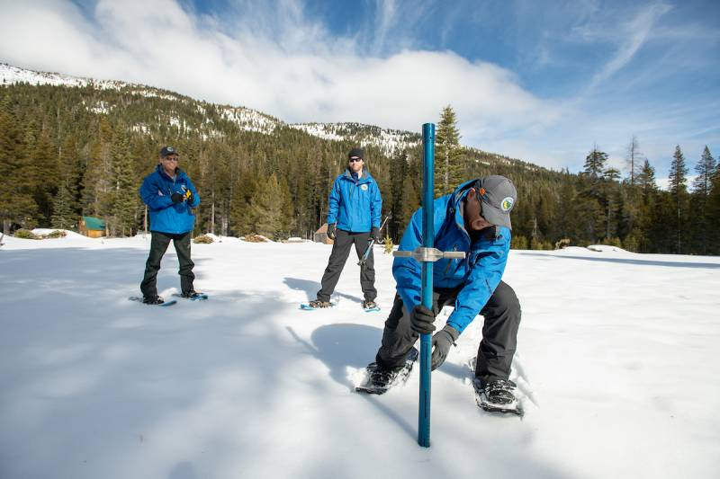 After a Dry January, California Snowpack is Trending Below Normal