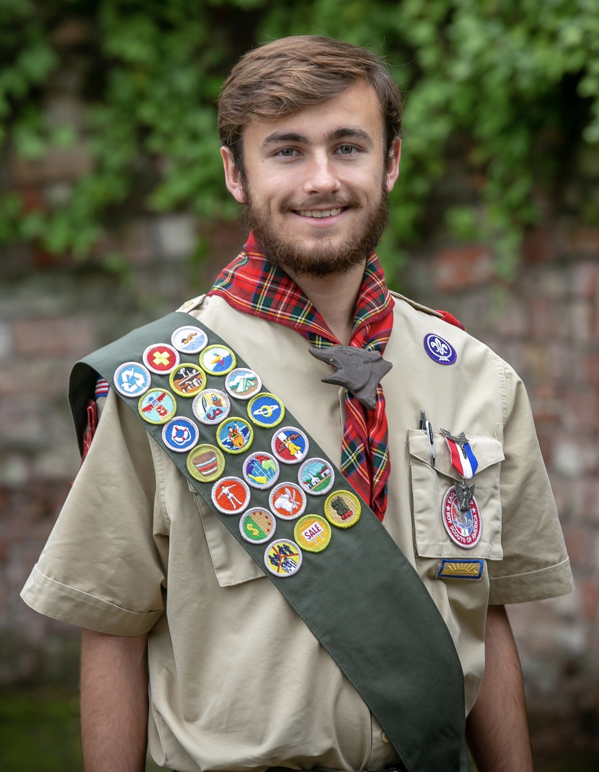 Eagle Scout Jon Davis, a Senior Patrol Leader for Troop 204 in Lafayette, is making himself available to shop for seniors local to him who need food or hardware supplies over the next few weeks.