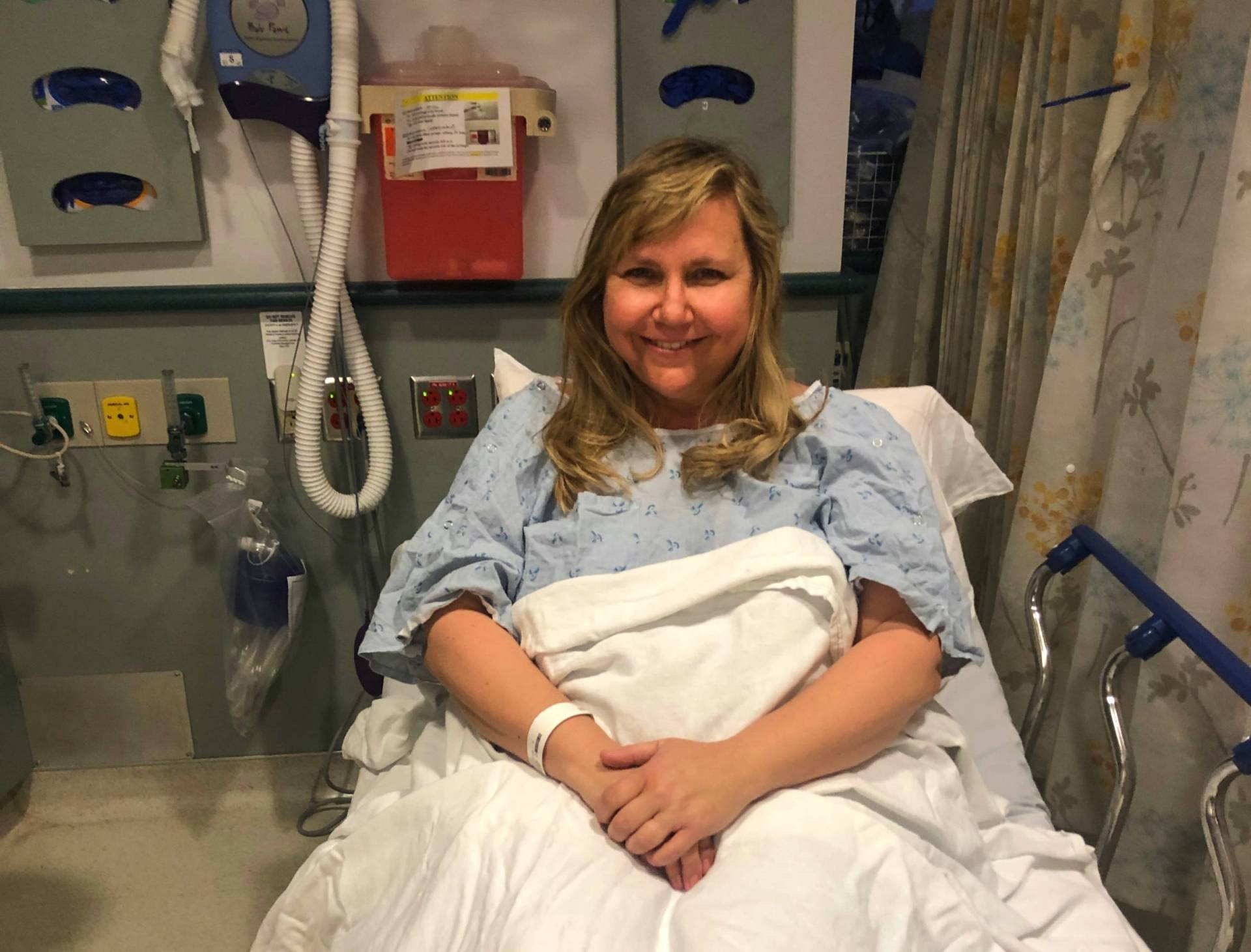 Rosemary Pathy-McKinney was diagnosed with two brain tumors in February just as the coronavirus was starting to spread in the Bay Area.