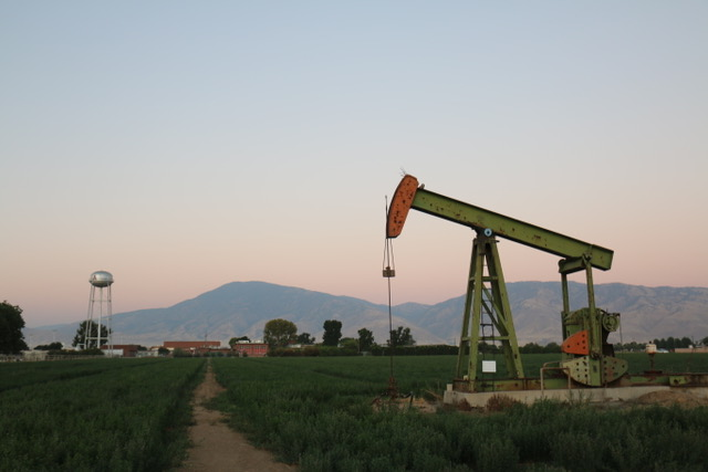 Photo: Arvin, CA with pumpjack in foreground