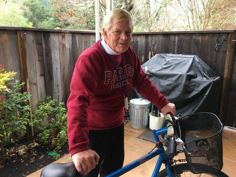 Jerry Canaday, 68, likes to say he's going on 31, even after the Tubbs Fire took his money and his health.