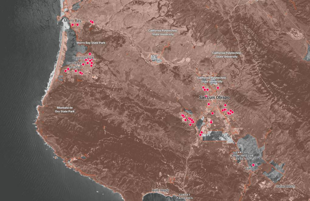 How We Analyzed Where Older Californians Are at Increased Risk for Wildfire | KQED