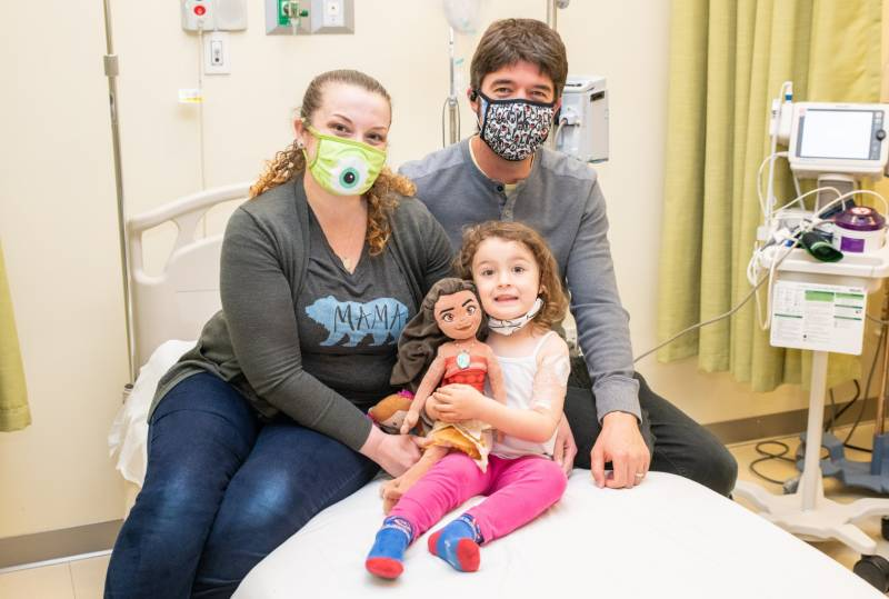 Eloise LaCour recently received two Pfizer shots for the coronavirus vaccine. She is one of the first children in the country to be protected from the virus.
