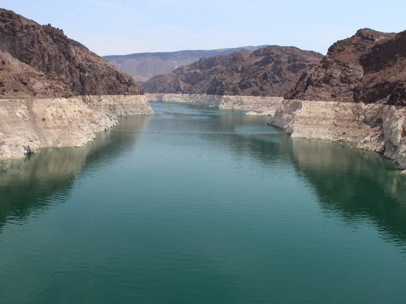 A photo of Lake Mead