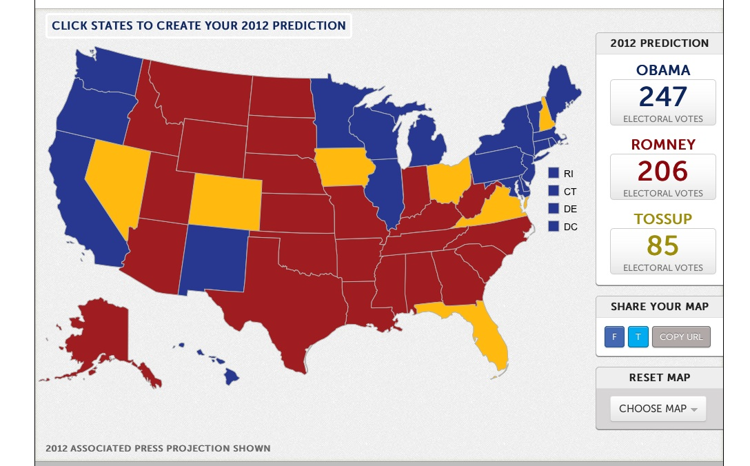 Seven Great Election 2012 Resources | Videos & Interactives | KQED