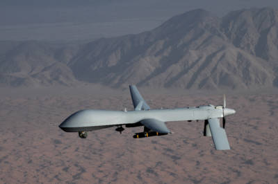 The MQ-1 Predator unmanned aircraft