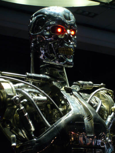 The terminator, a popular symbol of unchecked artificial intelligence