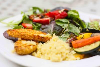 A well-balanced omnivore plate
